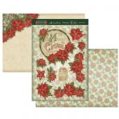 Hunkydory Die-Cut Topper Set - Pretty Poinsettia